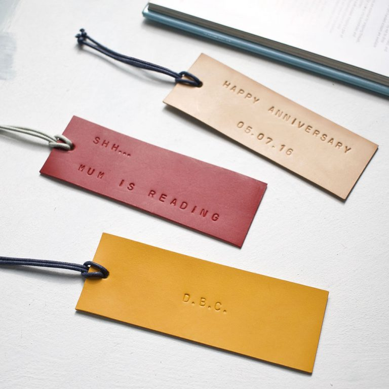 LUXURY LEATHER BOOKMARK