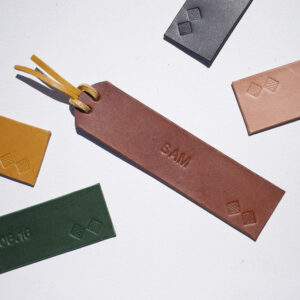 Brown bookmark