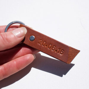Brown keyring
